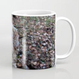 Leaf floating in the air Coffee Mug