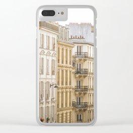 Montmartre, Paris, France Clear iPhone Case
