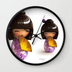 Kokeshi 04 Wall Clock