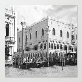 View of Venice St. Mark's Square Canvas Print