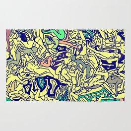 Kamasutra LOVE - Piss Yellow Rug