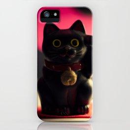 A maneki neko. iPhone Case