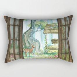 Favorite Window Rectangular Pillow