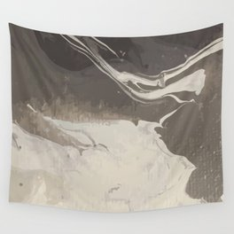 Marbled Hot Chocolate Wall Tapestry