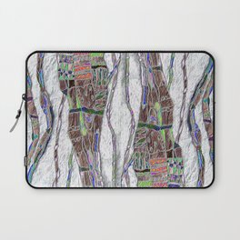 Weaving the Thread: Strands of Life Laptop Sleeve