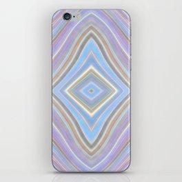 Mild Wavy Lines VII iPhone Skin