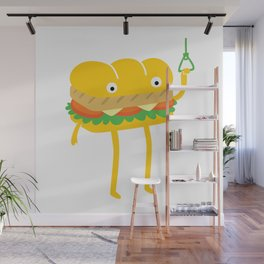 Foot Long Wall Mural