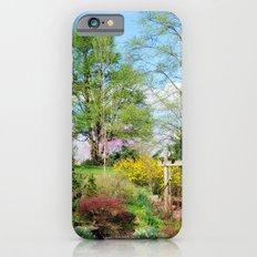 Spring Garden Setting Slim Case iPhone 6s