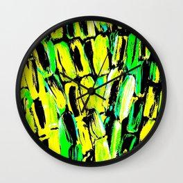 Jamaican Sugaarcane Wall Clock