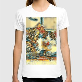 AnimalArt_Cat_20170912_by_JAMColorsSpecial T-shirt