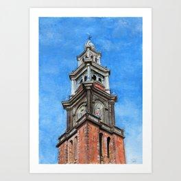 Westerkerk Art Print