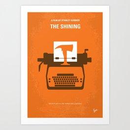 No094 My Shining minimal movie poster Art Print