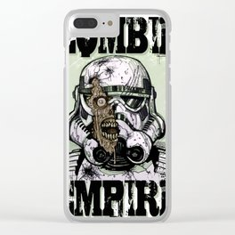 Zombie Empire Clear iPhone Case