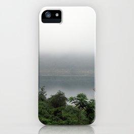 misty pond iPhone Case