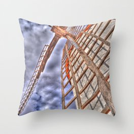 From above or below?  Throw Pillow