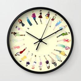 Fairy Tale Fashion Wall Clock