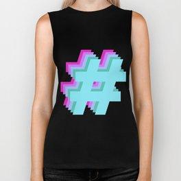 Hashtag Hashtag Hashtag - Colorway 1 Biker Tank