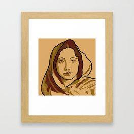 Anaïs Nin Framed Art Print