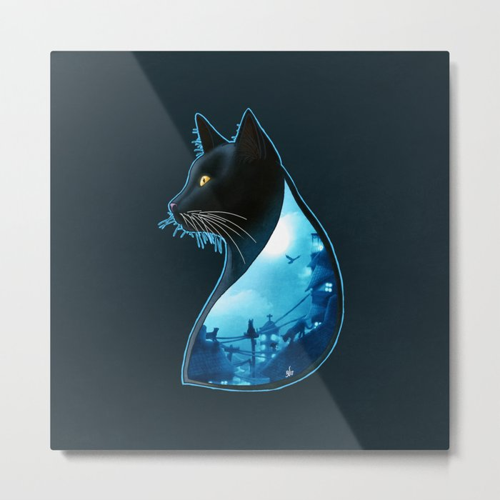Guardians of the Night Metal Print