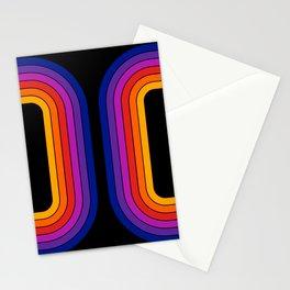 Black Rainbow Tunnel Stationery Cards