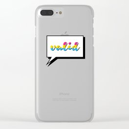 Pan People are Valid Clear iPhone Case