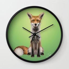 The Wise - Daniela Mela Wall Clock