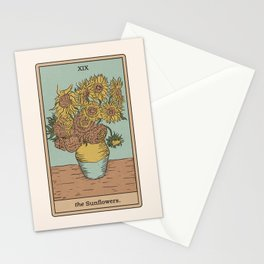 The Sunflowers Stationery Cards