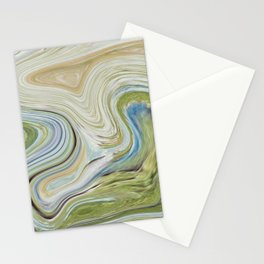 Liquid Earth Stationery Cards