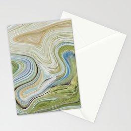 Liquid Earth Stationery Cards