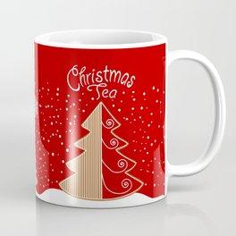 Red & white  gingerbread  #Christmas design Coffee Mug