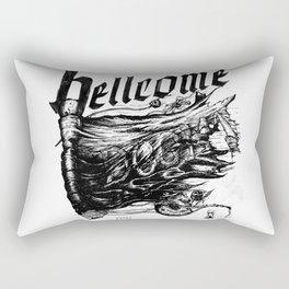 Believe the Dogma - Hellcome Rectangular Pillow