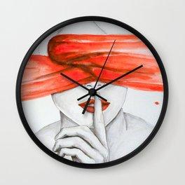 Seeing is Believing Wall Clock