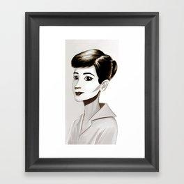 Hepburn Framed Art Print