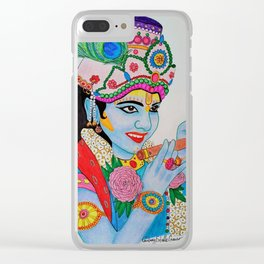Young Krishna Clear iPhone Case