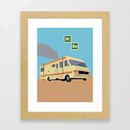 Breaking Bad Poster Framed Art Print