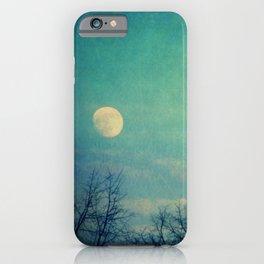 Ice Moon iPhone Case