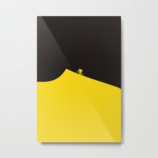 Yellow Jersey I Tour de France Metal Print