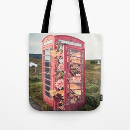 Flower Booth Tote Bag
