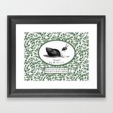 Sloth For Life Framed Art Print