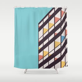 Le Corbusier Shower Curtain