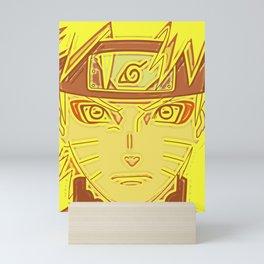 Anime Ninja Portrait Mini Art Print