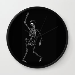 Hip Poping Wall Clock