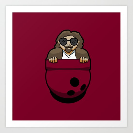 Pocket Dude (01) Art Print