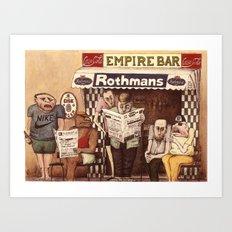 Forum Art Print