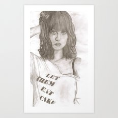 Hayley williams 2 Art Print