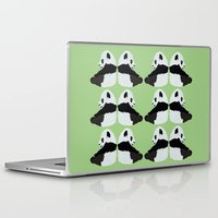 pandas Laptop & iPad Skins featuring Pandas by Alexandra Baker