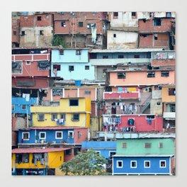 Venezuelan Tetris Canvas Print