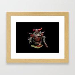 scarred pekka Framed Art Print