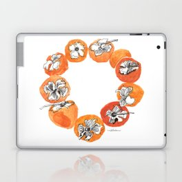 Persimmon Wreath Laptop & iPad Skin