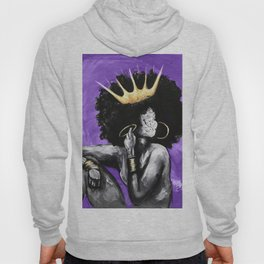 Naturally Queen VI PURPLE Hoodie